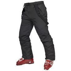 Glasto Pantaloni Impermeabili Da Sci Bambini / ragazzini (10 Anni) (nero)