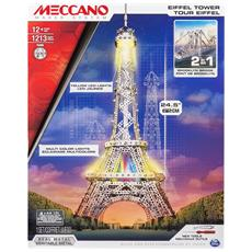 Torre Eiffel / Ponte Di Brooklyn Con Luci Led 1213 Pz