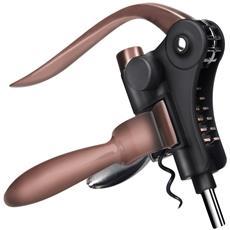 Cavatappi Professionale In Bronzo Con Meccanismo Automatico A Leva E Taglierino Incluso