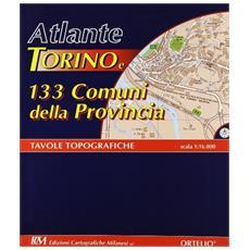 Atlante di Torino e 133 comuni della provincia