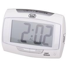 Orologio Digitale Con Sveglia Sld 3065 Bianco