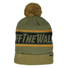 VANS - Cappello Uomo Beanie Of The Wall Unica Verde Nero 81a1a7215b5f