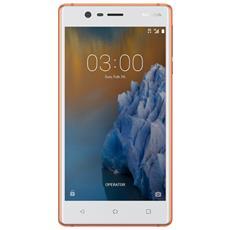 "3 Bianco / Rame 16 GB 4G / LTE Dual Sim Display 5"" HD Slot Micro SD Fotocamera 8 Mpx Android Italia"
