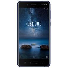 "N8 Blu 64 GB 4G/LTE Display 5.3"" Quad HD Slot Micro SD Fotocamera 13 Mpx Android Tim Italia"