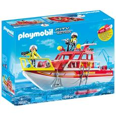 70147 - Barca Dei Vigili Del Fuoco (Limited Edition) - Disponibile dal 01/05/2019