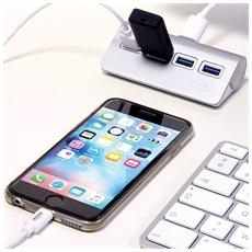 900121, USB 3.0 (3.1 Gen 1) Type-A, USB 3.0 (3.1 Gen 1) Type-A, USB, Grigio, ABS sintetico