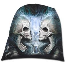 Flaming Spine Light Cotton Beanies Black (Berretto Tg. L)