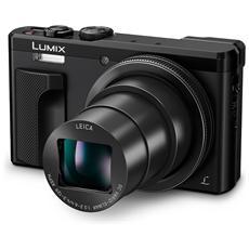 """LUMIX TZ80 Sensore MOS 18.1 Megapixel Display 3"""" Filmati Ultra HD 4K Wi-Fi Nero"""