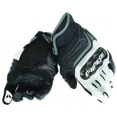 Carbon D1 Short Gloves Guanti Moto Taglia Xl
