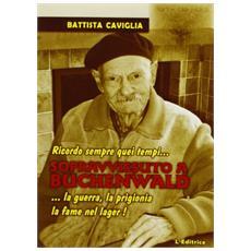 Sopravvissuto a Buchenwald. Ricordo sempre quei tempi. . . la guerra, la prigionia, la fame nel lager!