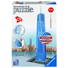 Puzzle 3D Freedom Tower 216 pz 12 x 12 x 36 cm 12562