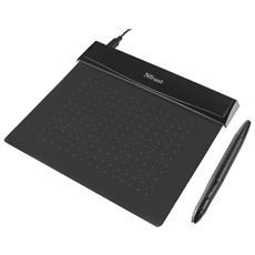 Flex Tavoletta Grafica Ultrasottile con Stilo Wireless Ergonomico Colore Nero