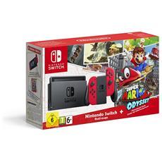 Switch Joy-Con Neon Rosso + Super Mario Odyssey Limited bundle