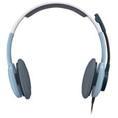 Cuffie Logitech H250 Cavo Stereo - Over-the-head - Semi-Aperto - Ice Blu - Mini-phone - Cancellazione del rumore