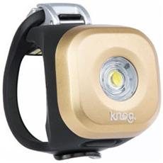 Luce Anteriore a LED Bianco per Bici Colore Oro