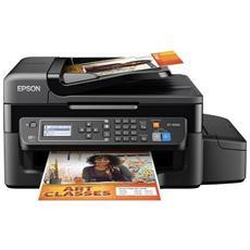 EcoTank ET-4500 Stampante Multifunzione Stampa Copia Scansione Fax InkJet a Colori A4 33 Ppm (B / N) 15 Ppm (Colore) Usb WiFi