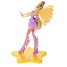 Statuina per dolci in plastica Winx Stella