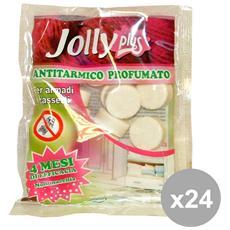 Set 24 Jolly Tarmicida Palline Profumato 100 Gr. Articoli Per Insetti