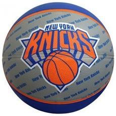 Pallone Basket New York Knicks Blu Grigio 7
