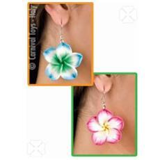 Orecchini Hawaii C / fiore Ass-ti Cf1