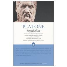 Repubblica. Testo greco a fronte. Ediz. integrale