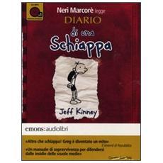 Diario di una schiappa letto da Neri Marcorè. Audiolibro. CD Audio formato MP3. Ediz. integrale