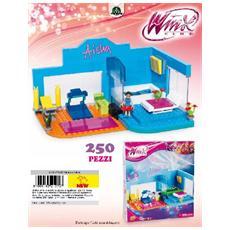 Winx Club - Costruzioni - Fitness Club Di Aisha 250 Pz