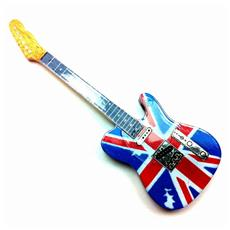 Magnete forma chitarra - UK Flag