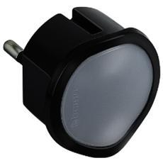 S3625ga Adattatore Luce On-off Manuale Con Funzione Crepuscolare Automatica, Nero