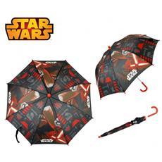 Swe7005 Ombrello Da Pioggia Per Bambino 57 Cm Rosso E Nero