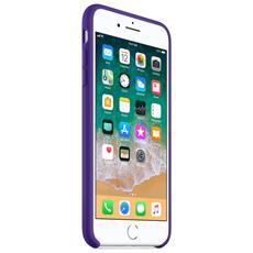 Custodia in Silicone per iPhone 8 Plus e 7 Plus Colore Viola Scuro