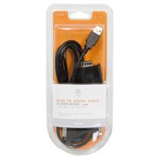 USB To Serial Cable, 1,8m, 1,8m, Nero, 9,3 cm, 23,4 cm, 3,3 cm, m 9 pin