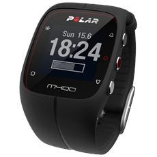 M400 Smart Coaching Frequenza Cardio GPS Integrato e Attività fisica 24/7 - Nero