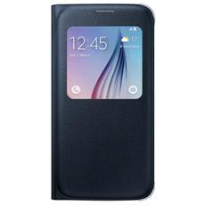 Custodia Booklet per Galaxy S6 - Colore Nero