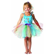 Costume My Little Pony Rainbow Dash Azzurro 3-4 Anni