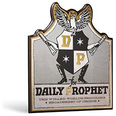 Hp Daily Prophet Wall Plaque Placca