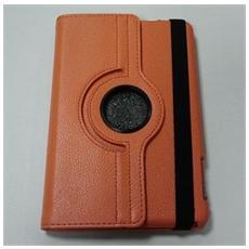 Ipad Mini Custodia A Libro Pu Case Arancio