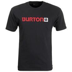 T-shirt Logo Horizontal Junior L Nero