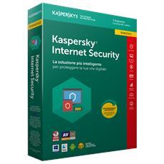 Internet Security 2018 Licenza per 3 Dispositivi per 1 Anno Versione Rinnovo (Italiano)