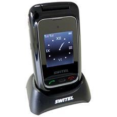 M800 Senior Phone Display 2.4'' +Slot MicroSD Bluetooth con Tasti Grandi + SOS Fotocamera Colore Nero