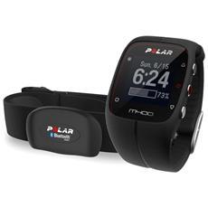 M400 Smart Coaching con GPS Integrato e Attività fisica 24/7 con Sensore di Frequenza - Nero
