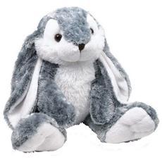 Small Foot Design Hoppel Bunny Plush Coniglio giocattolo Felpato Grigio, Bianco