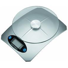 Bilancia Digitale Di Precisione Da Cucina Ripiano In Vetro Da 1 Gr a 5 Kg Tara