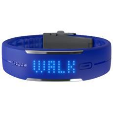 Activity Tracker Loop 1.5'' con Bluetooth Cardiofrequenzimetro Colore Blu