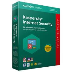 Internet Security 2018 Licenza per 3 Dispositivi per 1 Anno Versione Full (Italiano)