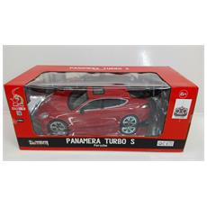 Porsche - Panamera Turbo S - Radiotelecomandata - Rossa - Scala 1:16