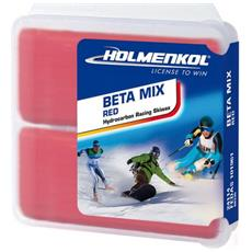Holmenkol Betamix Red Wax Sciolina Caldo Rossa -4 / -14