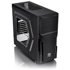 Case Versa H21 Middle Tower ATX / Micro-ATX 1 Porta USB 3.0 Colore Nero (Finestrato)