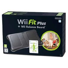 WII - Wii Fit Plus + Balance Board Nera