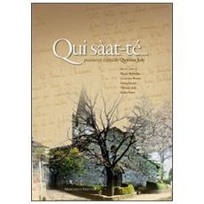 Qui sàat-te. . . Poésies et écrits de Quirino Joly